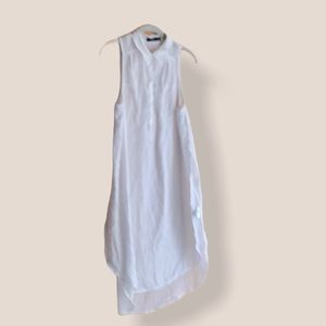 Nunui white airy swimsuit cover-up size 8